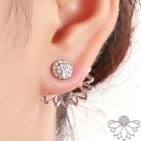 Factory Direct Lotus Style Ear Piercing Stud Fashionable Ear...