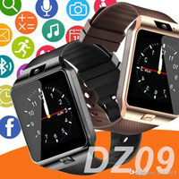 DZ09 SmartWatch андроид GT08 U8 A1 Samsung Smart Watchs SIM Интеллектуальные часы мобильный телефон может записывать сна состояние смарт-часы