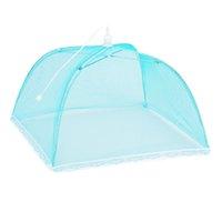 Pop Up Mesh Ekran Gıda Kapak Koru Gıda Kapak Çadır Kubbe Net Şemsiye Piknik Gıda Koruyucu OOA8055