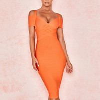 Adyce New Summer Bandage Dress Women Vestido 2019 Sexy Orang...