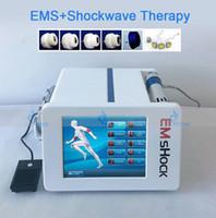 Ударная терапия машины Экстракорпоральная ударная волна Оборудование для лечения ED лечения EMS обезболивает электрическая мышечная стимуляция