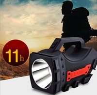 Portable Spotlight LED Searchlight 4000mAh Rechargeable Hand...