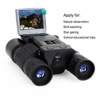 Бесплатная доставка 10 * 25 Увеличить бинокулярный 720P цифровая видеокамера 2 «» TFT видеокамера BD318 Открытый телескоп Охота камера