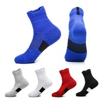 New Radsocken Top-Qualität Professional Basketball Sportsocken atmungsaktiv Fahrrad Socken Outdoor Sports Racing For Fashion Men M265Y
