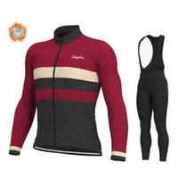 Raphaing 2019 Pro Team Bike Cycling Jersey Winter Thermal Fl...