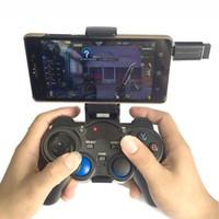 10 pcs 2.4G Controlador de Jogo Sem Fio Gamepad Joystick mini teclado remoter Compatível com vários dispositivos, w / suporte de telefone, PK manette ps4