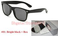 vendita calda più venduto occhiali da sole per le donne Legno E Natura Horn Sunglasse Mens guida Ombra Eyewear occhiali da sole di vetro