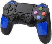 Neue Farben für PS4 drahtlose Bluetooth-Controller Vibration Joystick Gamepad Game-Controller für Sony Play Station mit Kasten Dropshipping 1pcs