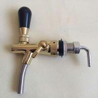 Nagelneuer Fass-Zapfhahn mit Standardschaft, Kompensator, Durchflussregelung für Bar oder Hausgebräu