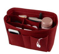 Felt Organizer Portable Cosmetic Storage Bag Hot Sale Foldin...