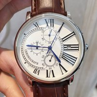 All Subdials Work Luxury Fashion Man Watches With Date Dress...