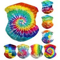Colorido impreso al aire libre a prueba de insectos montar máscara cornisa tapa cambiable bufanda mágica bufanda