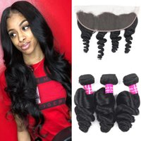 9A Brazilian Hair Loose Wave With 13x4 Ear To Ear Lace Front...