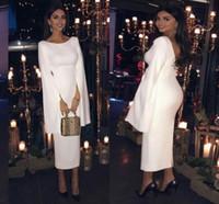 2020 긴 소매 무슬림 정장 이브닝 드레스 터키어 아랍어 두바이 무도회 파티 칵테일 드레스 가운 카프 탄 로브 드 야회