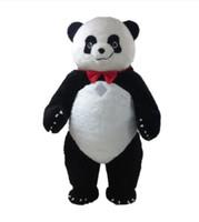 Personnalisé professionnel grand Panda Costume De Mascotte De Bande Dessinée graisse panda bear Caractère Animal Vêtements Halloween festival Party Fancy Dress