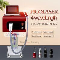 Portable Pico Laser Portable Nd Yag Laser Tatouage Blanchiment de peau Traitement de la pigmentation PicoSecond Laser Beauty Machine