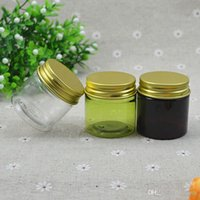 50pcs Wide Mouth Cream Jar for avoiding light round small pl...