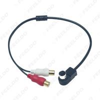 Car Audio Radio Aux-in 2 RCA-Kabel AUX-Adapter für Alpine KCA-121B JVC Ai-Net-Player 9887 105 117 9855 # 6250