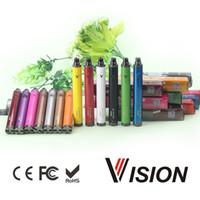 Batteria Vision Spinner 2 II 1650mAh Ego Evod C Twist Tensione variabile VV Vision2 Batteria per 510 fili E Atomizzatore per suini