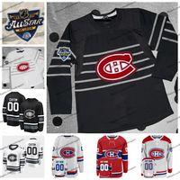 2020 All Star Game Personalizza 6 Shea Weber 31 Carey Prezzo Max Domi Montreal Canadiens di hockey Jersey Kovalchuk Drouin Gallagher Lehkonen Folin