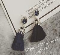 Brincos Pretty Fashion Jewelry Brand Design orelha algemando strass estrela do mar coreano New Crystal Brincos Declaração Brincos Bohemian