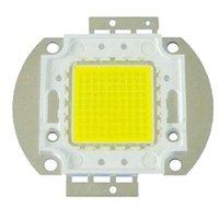 Chip de LED de alta potencia caliente puro 3000-3500K blanco frío iluminación Cuentas 10W 20W 30W 50W 70W 80W 100W Integrated Matrix bulbo de lámpara de la COB