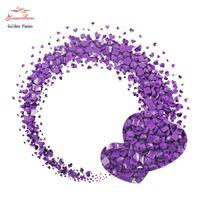2000pcs diamond storage by box diy embroidery 5D square Diamond Painting 3D Mosaic Needlwork Decoration beads crafts