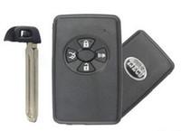 Высокое качество авто ключ для Toyota Carola Remote case smart key shell 4 кнопки TOY48 (с аварийным ключом) черный