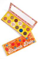 Nuovo arrivare Colourpop gamma di colori dell'ombretto di 12 colori Carta Bubble colazione Fry Uovo Ombretto Long Lasting Eyeshadow di buona qualità