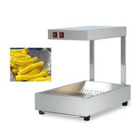 220 v elétrica hot food aquecedor comercial espanhol máquina de aquecimento churros lanche batatas fritas chips display vitrine mais quente
