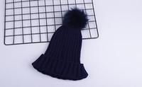 Moda lüks tasarımcı Kış marka erkekler Bonnet kadınları Casual örgü hip hop gorros Ponpon kafatası kapaklar saç top açık beanie