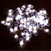 100pcs / lot Led Ball Lampes Balloon Lights Fée Lights Moon Starry String Lights Pour La Maison De Mariage Décoration Artisanat Costume
