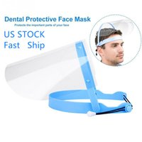 US STOCK Transparent Face Shield Protective Mask Full Face S...