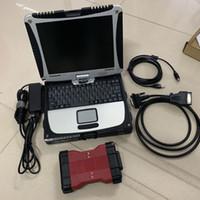 Top outil de diagnostic de voiture VCM2 pour F-ORD VCM II IDS V101 Véhicules Multilin language Véhicules VCM 2 OBD2 Scanner avec ordinateur portable CF19 CF-19 Toughbook