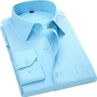 marca Aoliwen New Moda Casual Shirt Men Long Sleeve Slim Fit Men Casual Botão-Down camisa formal camisas de vestido Vestuário