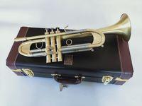 Nuovo Bach Tromba B tromba piatto LT197GS-77 strumento musicale di tipo pesante doratura Tromba riproduzione di musica