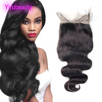 Peruvian Human Hair 6X6 Lace Closure With Baby Hair 8- 20inch...