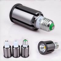 Nouveau design COB Spot LED 5W 9W 12 LED E27 GU10 220 V 110 V Cob ampoule à led blanc chaud blanc froid