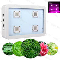 X4 1200W COB Full Spectrum LED Grow Light Led Luces de cultivo Invernadero Veg y Bloom crece sistemas hidropónicos DHL