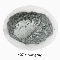 500g Buytoes Silver gray Color Pearl Mica powder Pigment Pearlescent Coating Pigment Cosmetic Pigment,Plastic & Rubber Pigment,