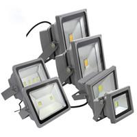 30W 50W 100W 150W 200W lampe de projection du projecteur lumière crue LED publicité lampe signes de spots extérieurs étanche AC85-265V