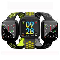 Smart Watch 2021 F15 1,3 Zoll Farbbildschirm Stahlgürtel Herzfrequenz Blutdruck Schlafüberwachung IP68 Step Sports Armband Uhren Geschenke