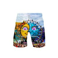 Men' s 3D Tomorrowland 3DBoard Shorts Trunks 2019 Summer...