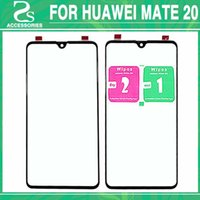 10pcs New Mate 20 Front Glass Lens For Huawei MATE 20 Displa...