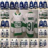 St Pats Pattys Day Toronto Maple Leafs Auston Matthews Jerse...