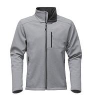2018 Yüksek QualityMens Denali Apex Biyonik Ceketler Açık Rahat SoftShell Sıcak Su Geçirmez Rüzgar Geçirmez Nefes Kayak Yüz C ...