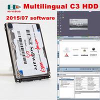 Star Diagnosis SD C3 2.015,07 Edition-Software ist eine mehrsprachige Autodiagnosewerkzeug Software für OBD-Stecker MB STAR C3