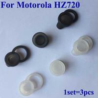 Para Motorola Elite Virar HZ720 Eartips fones Eargels 3pcs / set pontas da orelha substituição de silicone botões géis frete grátis alta qualidade