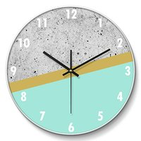 Creative American Wall Clock Table Decorative Watch Mechanis...