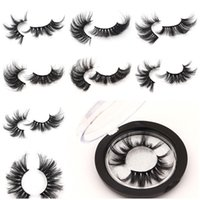 NUEVO 5D Mink Eyelashes 25mm 3D Mink Eyelash Pestañas postizas Big Dramatic Volumn Mink Lashes Maquillaje Pestañas